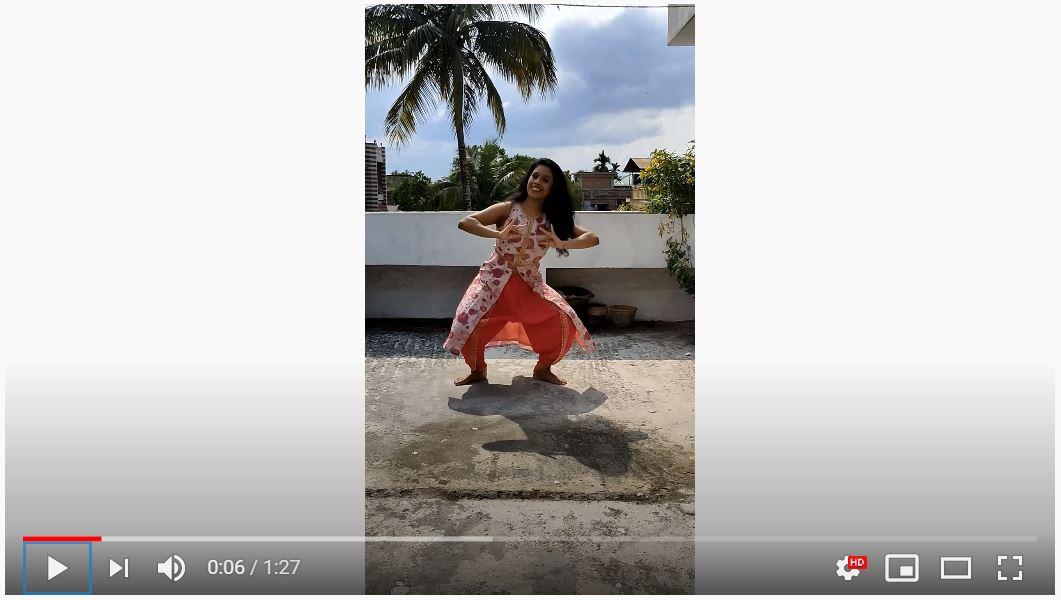 Sinthiya Dutta - Bengaluru - Dancing - Solo